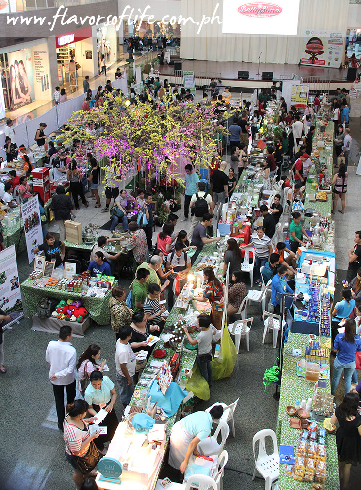 The BellySima Food Festival at Glorietta drew a sizable crowd of food-loving shoppers