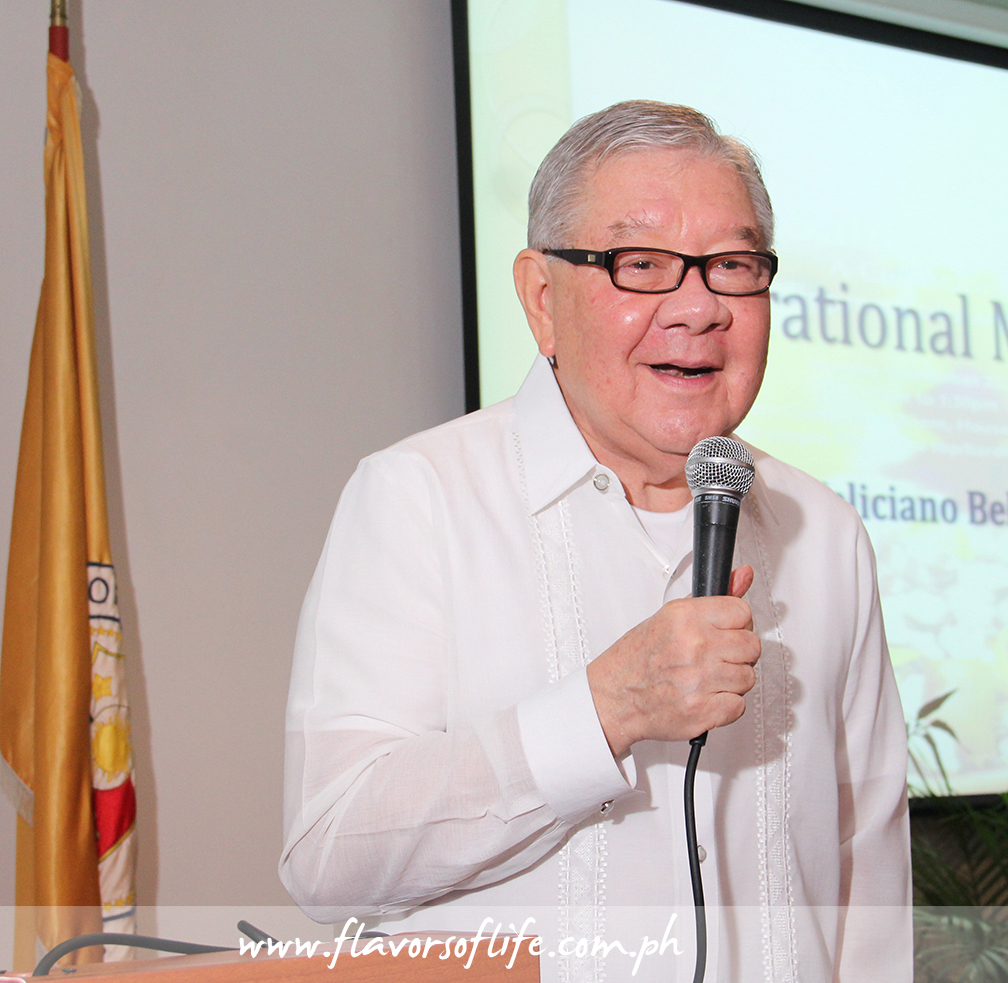 House Speaker Feliciano 'Sonny' Belmonte Jr. as guest of honor