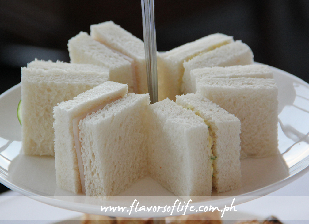 Assorted Tea Sandwiches on the second layer