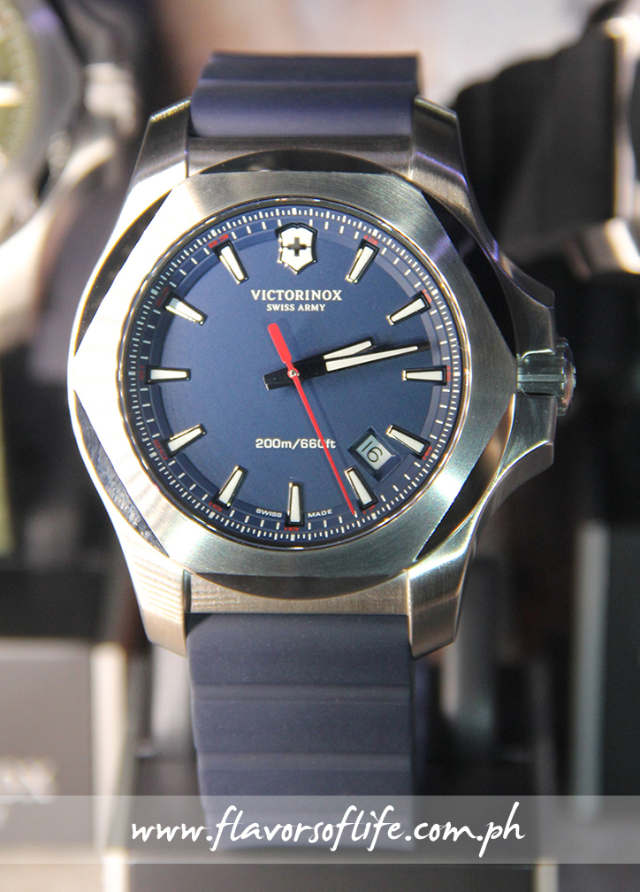 Victorinox's I.N.O.X., in navy blue dial and navy blue rubber strap variant, is the toughest watch in the world