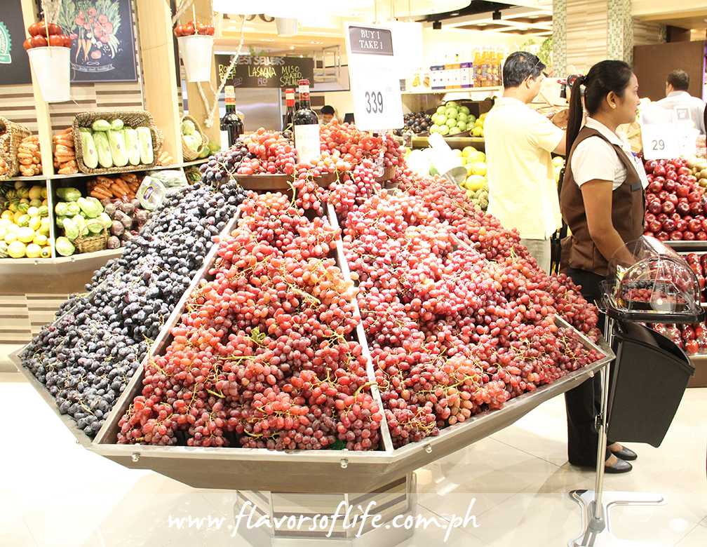 Awesome supply of grapes!