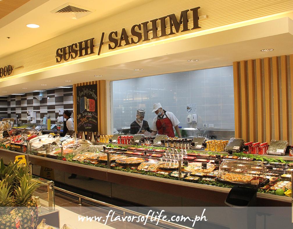 Sushi/Sashimi Bar