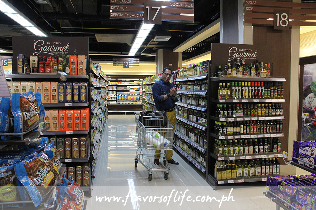 Some of the best gourmet food brands can only be found at Marketplace by Rustan's