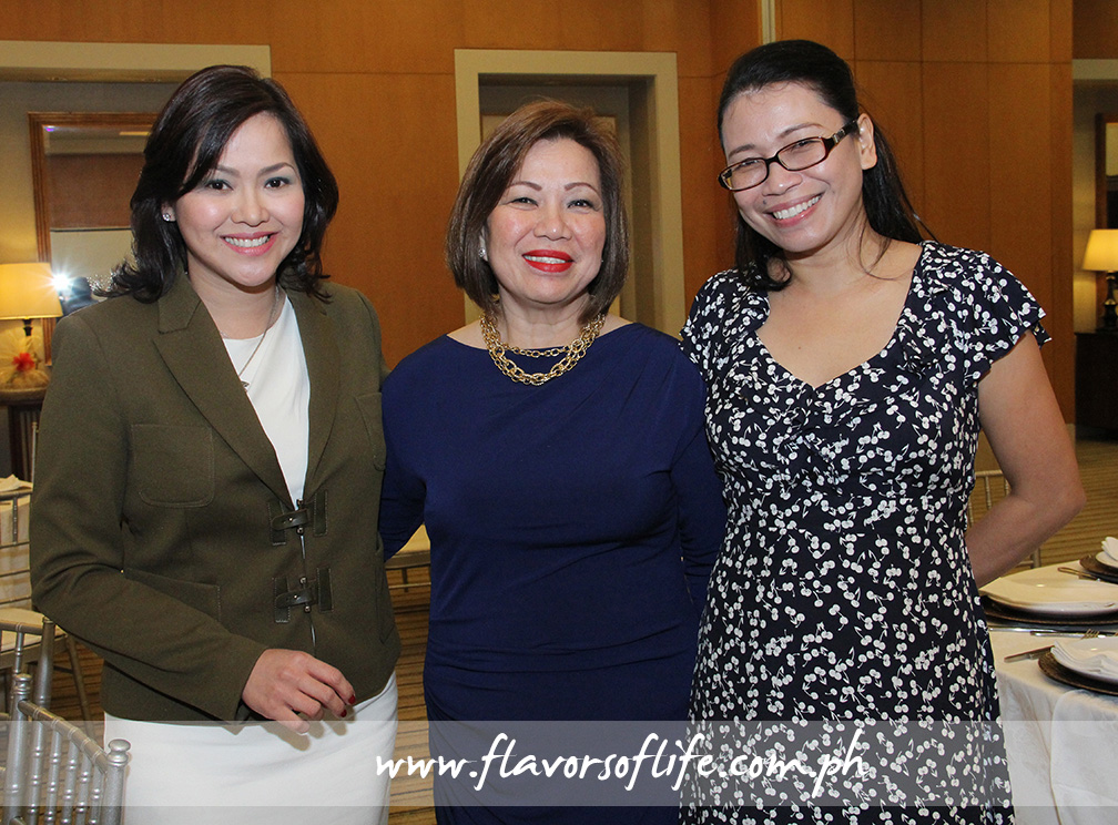 Pauli Antoine, Aida Garcia of Dane International, and USPB Philippine representative Reji Retugal-Onal