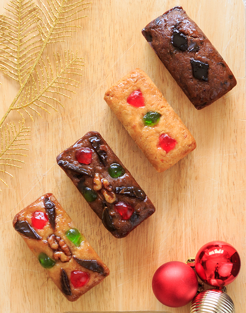Ju.D Mini Fruitcakes