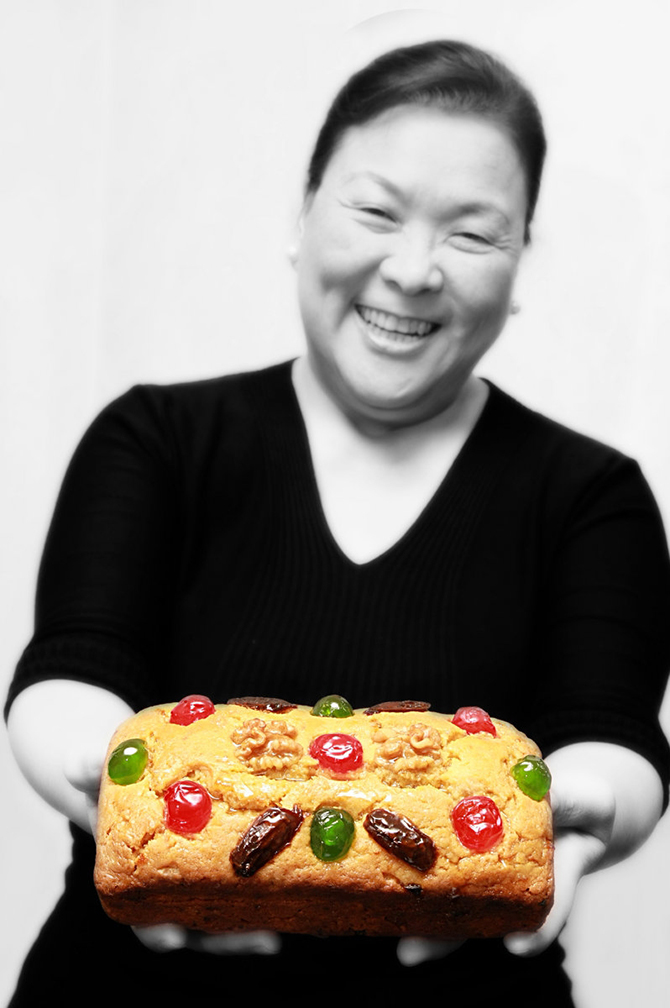 Fruitcake queen Ju.D Lao and her Classic Fruitcake