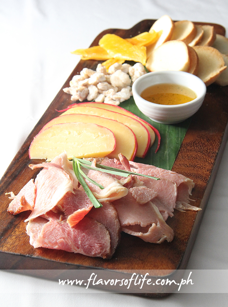 Jamon & Queso Plate