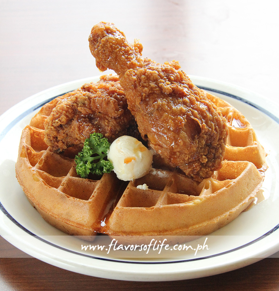Sriracha Chicken & Waffle