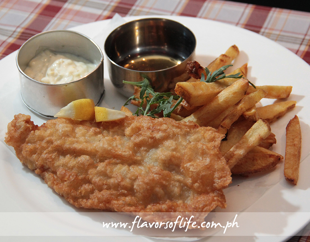 Traditional Fish & Chips (Wolf & Fox)