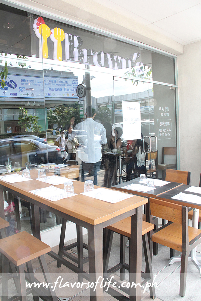 Brown's Gourmet Cafe at The Hub of Greenfield District in Mandaluyong City