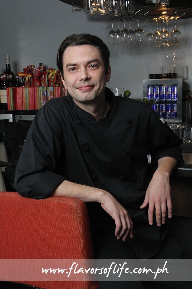 Tapella's new executive chef Robert Spakowski