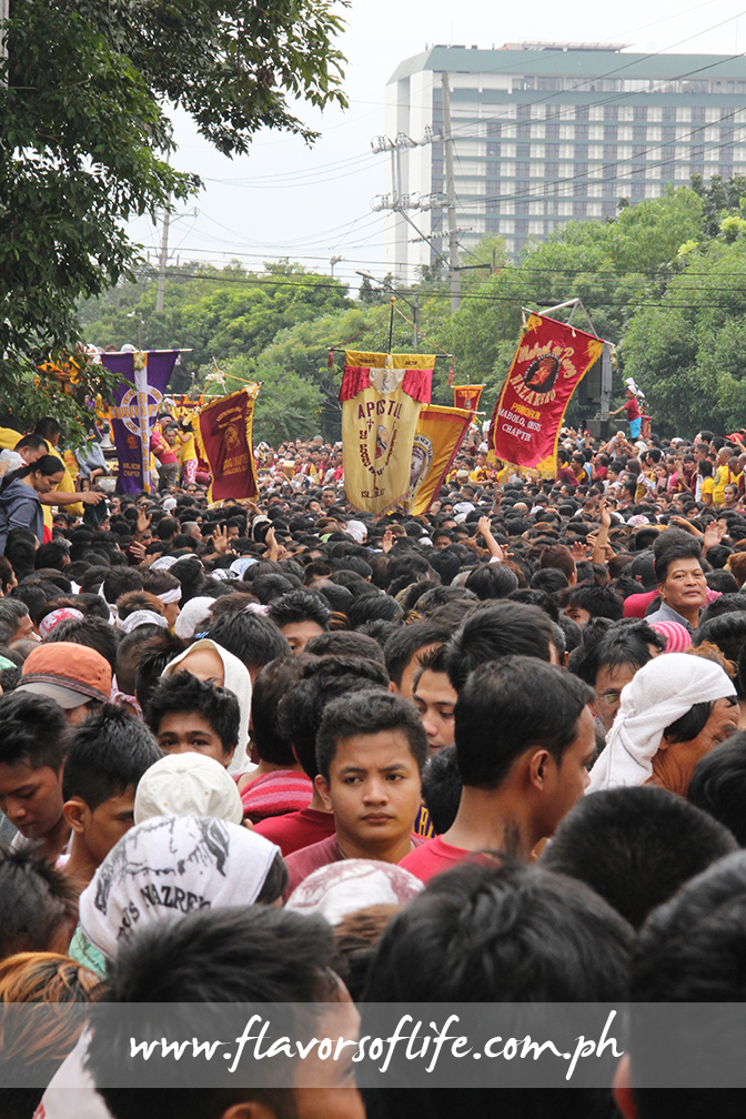 TV networks estimate the crowd that turned out for this year's Traslacion at 5 million
