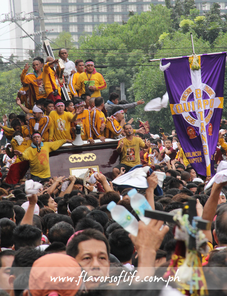The Traslacion during the Feast of the Black Nazarene