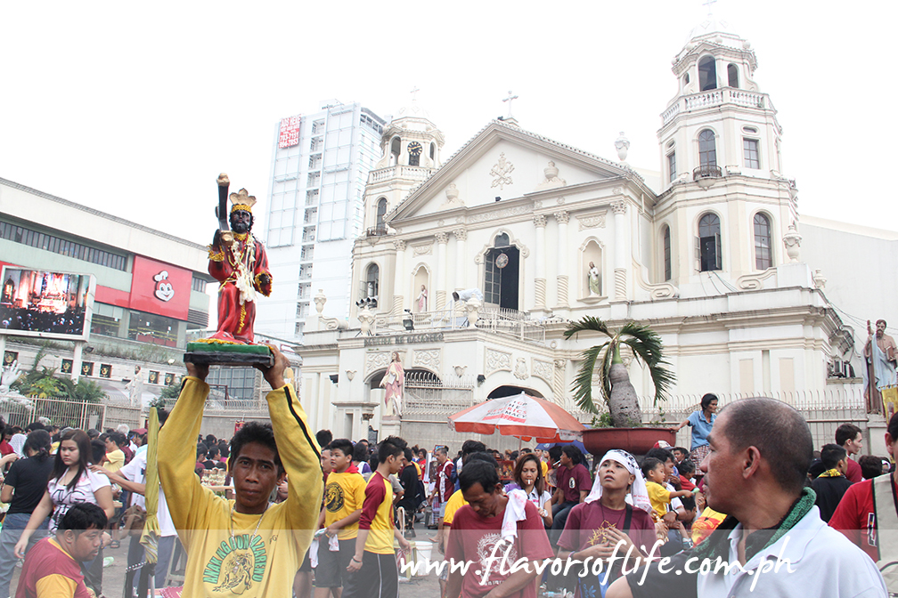 Quiapo Church is home to the miraculous image of the Black Nazarene