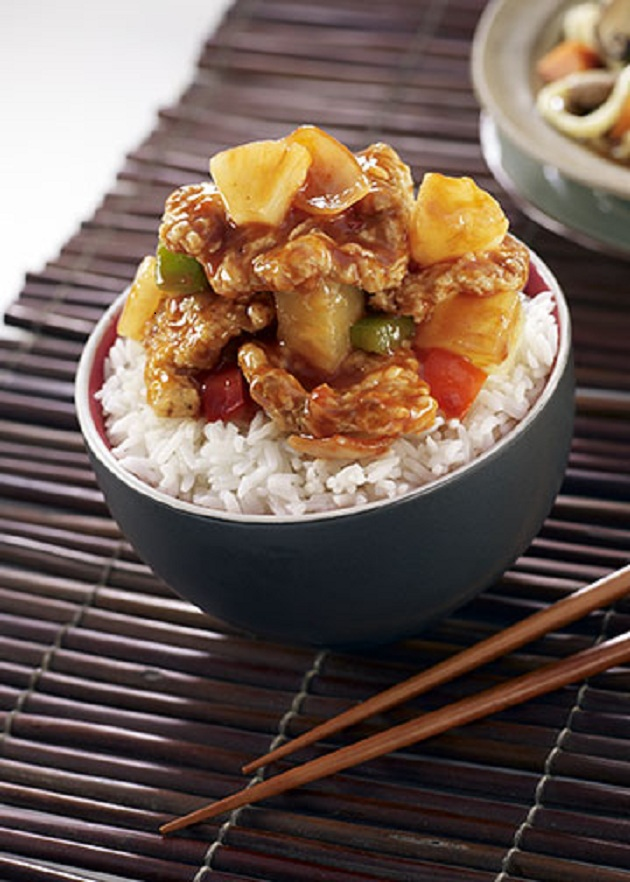 sweet n sour pineapple pork