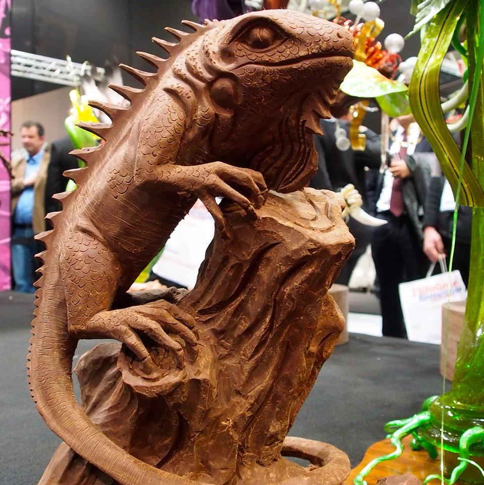 Carving from a Chocolate Block: Philippine Sail fin Lizard