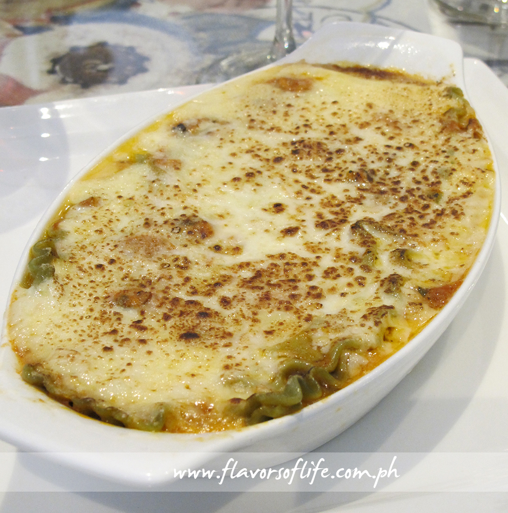 Baked Layered Seafood is a must-try at the Massimo Trulli store