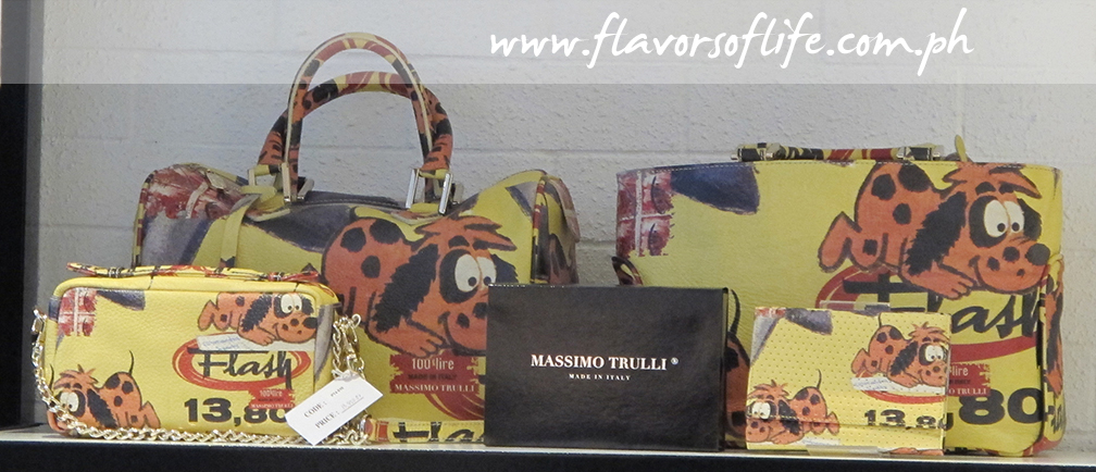 Fun and light leather handbags from the Massimo Trulli collection