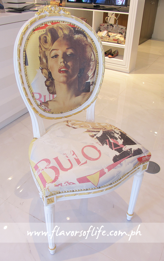 Exquisite Marilyn Monroe chair by Massimo Trulli