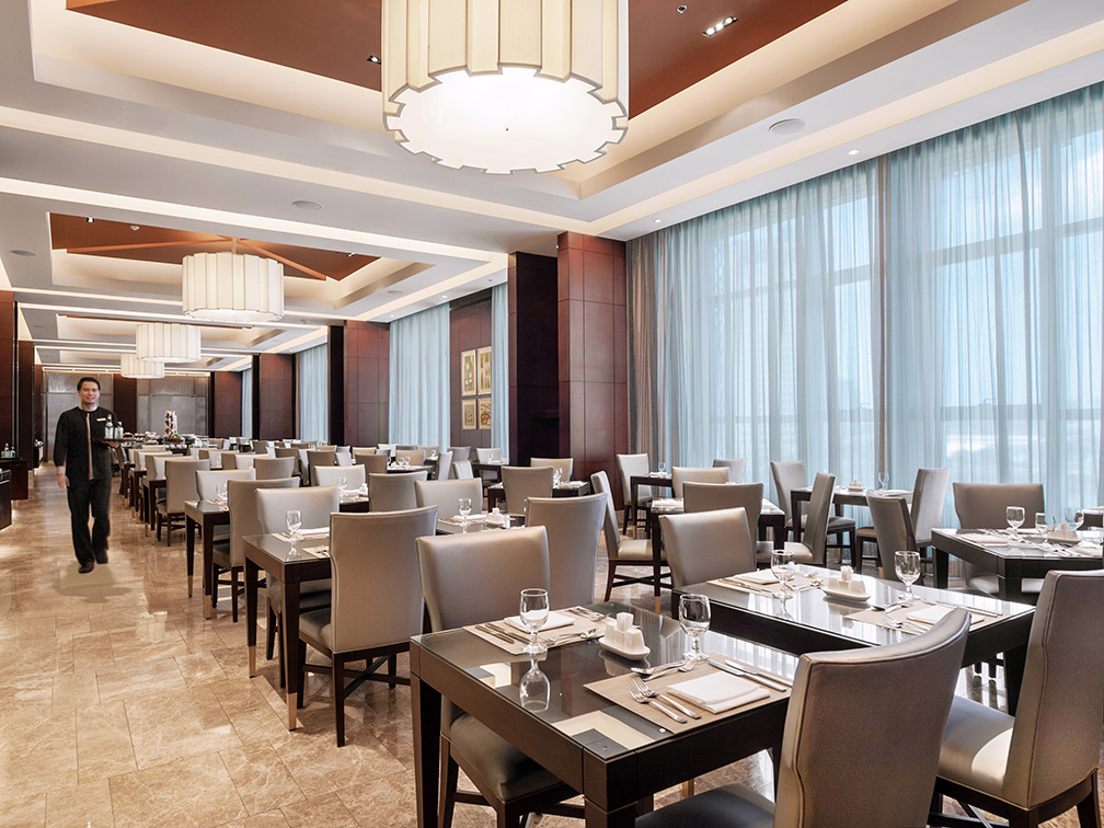 Crimson Hotel Filinvest City's all-day dining restaurant, Cafe Eight
