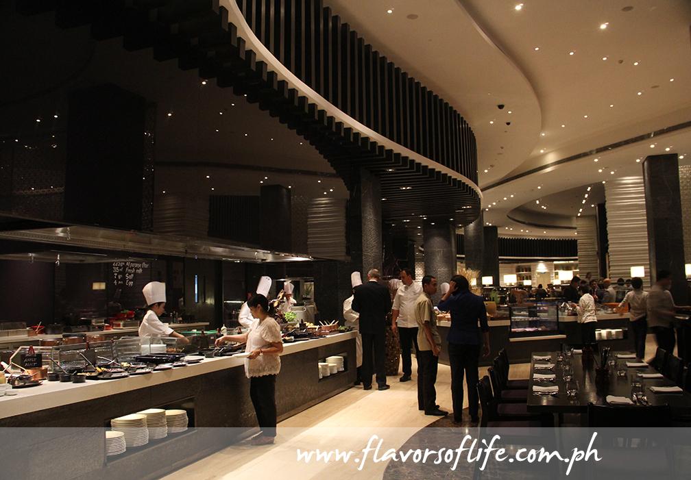 The Cafe is Hyatt City of Dreams Manila's main dining facility