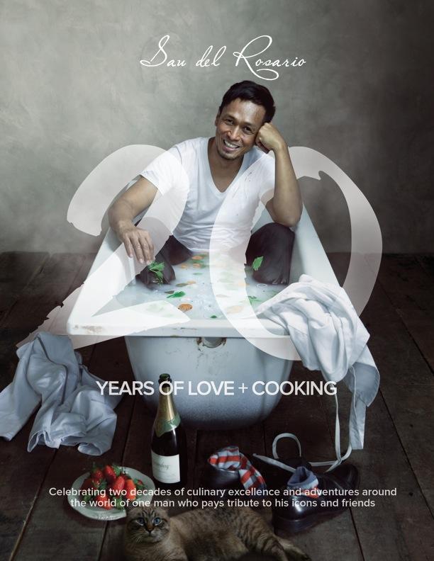 Chef Sau Del Rosario's first cookbook