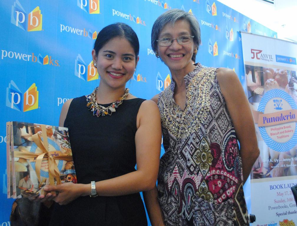 Marriott Hotel Manila's Aimee Lagman with Anvil Publishing's Gwenn Galvez
