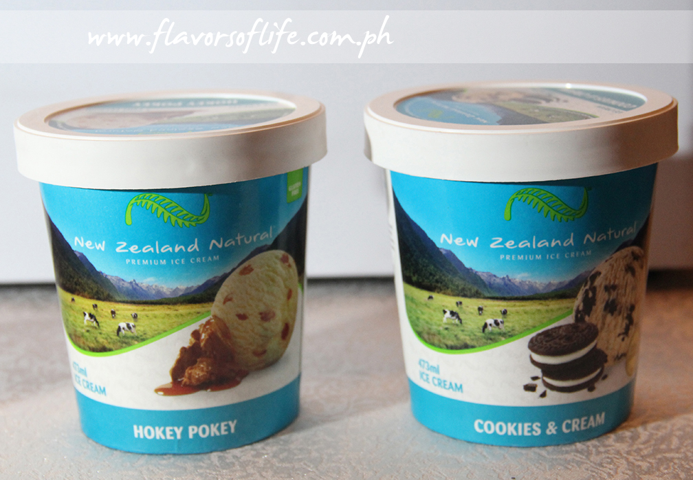 New Zealand Natural Ice Cream