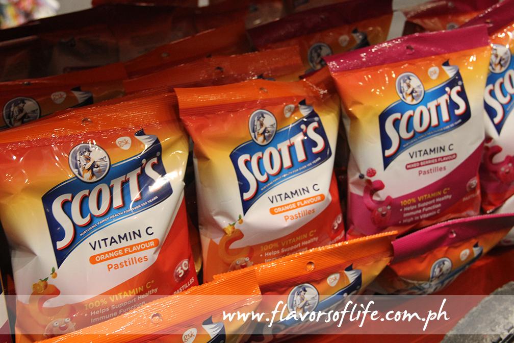 Scott's Vitamin C pastilles