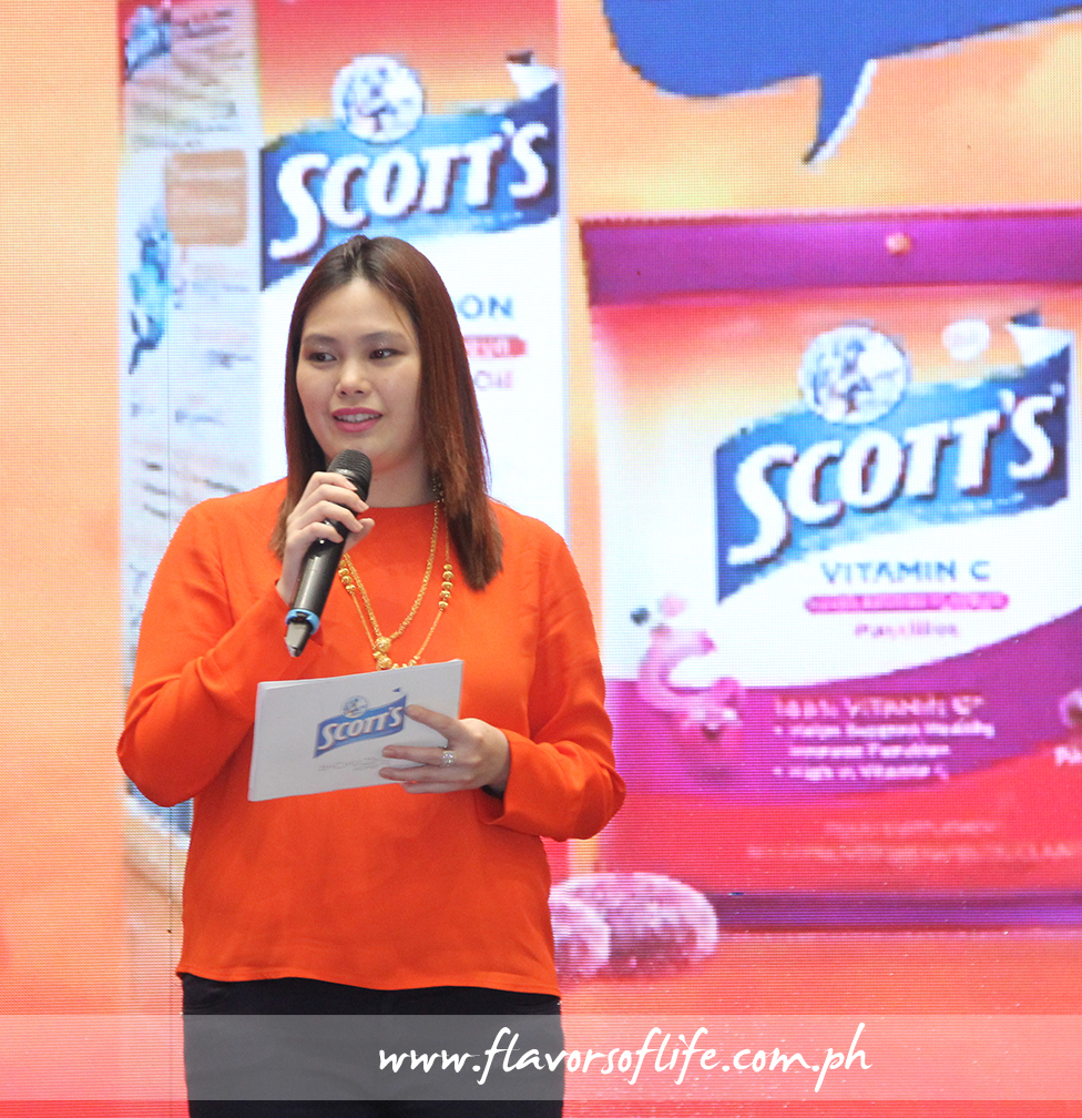 Scott's product manager Joyce Uong encourages moms to share their 'momazing' experiences with other moms