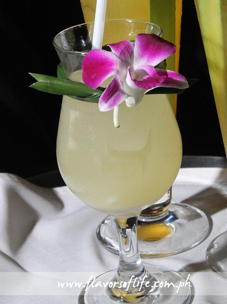 Buko Pandan drink