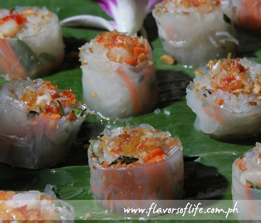 Rice Paper with Shrimps