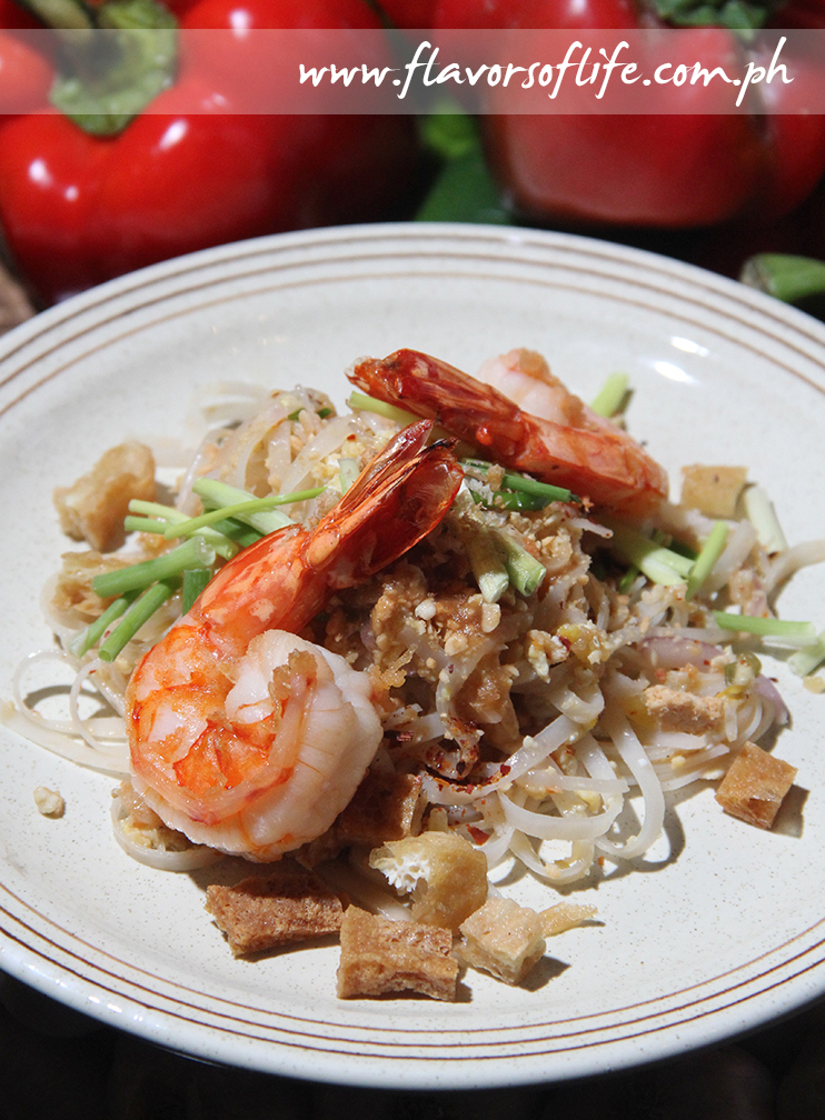 Phad Thai is one of the authentic Thai dishes featured in the 'Tastefully Thai' food promotion ongoing at The Peninsula Manila's Spices restaurant