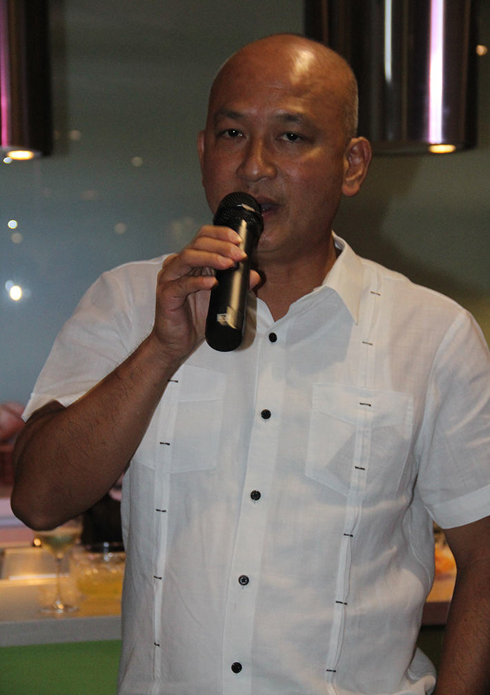 Enderun Colleges' culinary director Chef See Cheong Yan was an influential person in Chef Sau's career