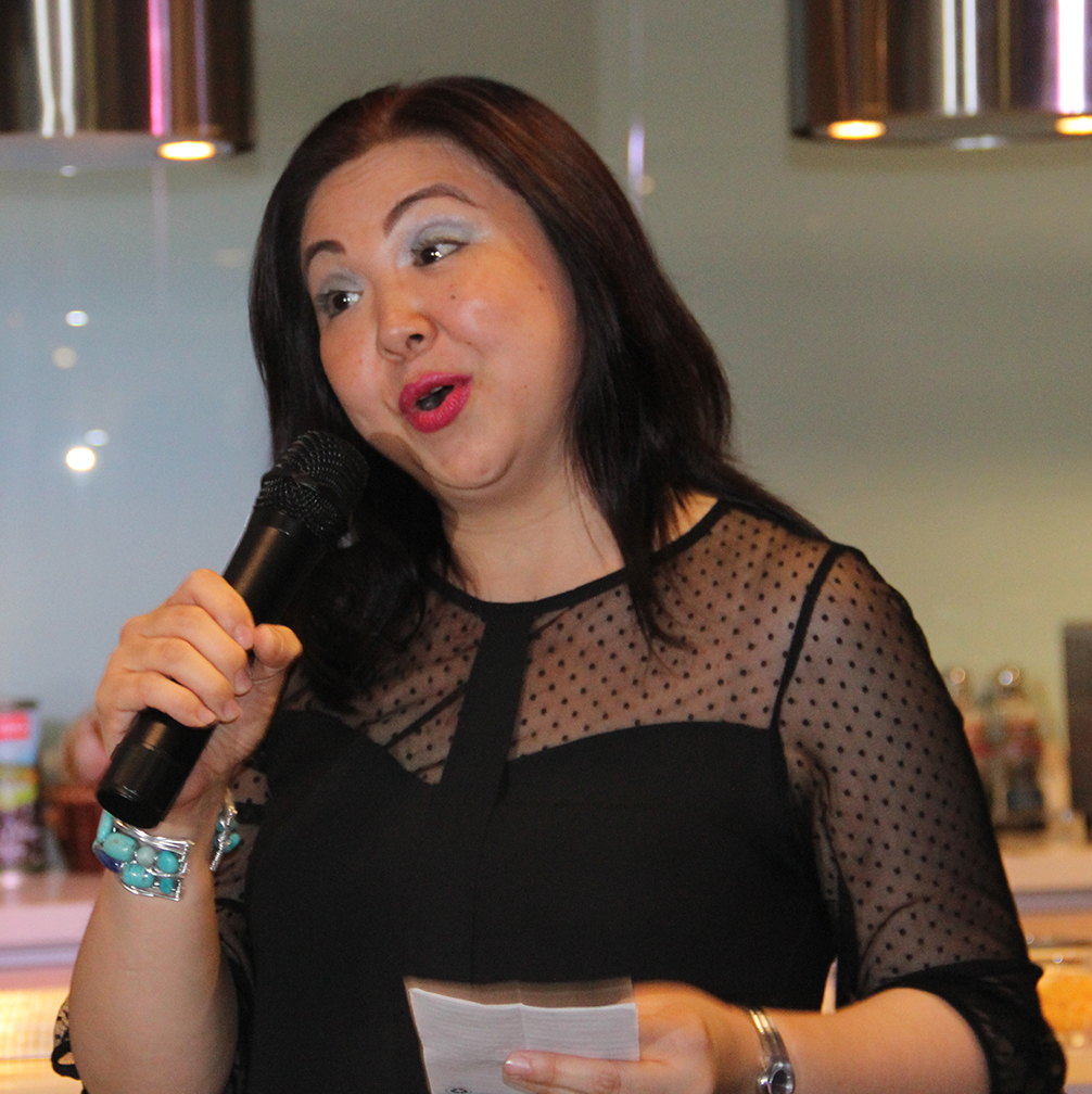 Gwen Carino has been Chef Sau's long-time publicist