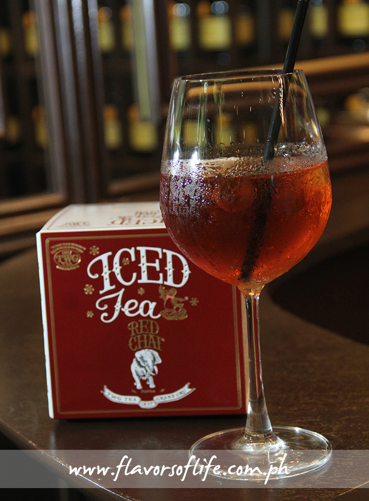 Red Chai Iced Tea