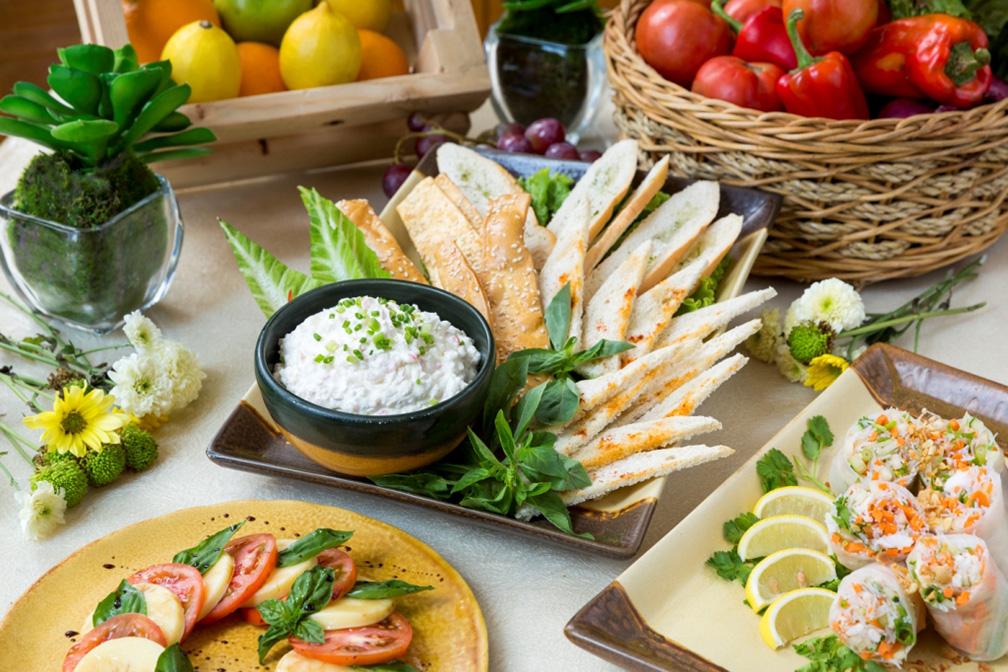 Antipasto spread at Richmonde Hotel Ortigas' Mom's Country Garden Luncheon