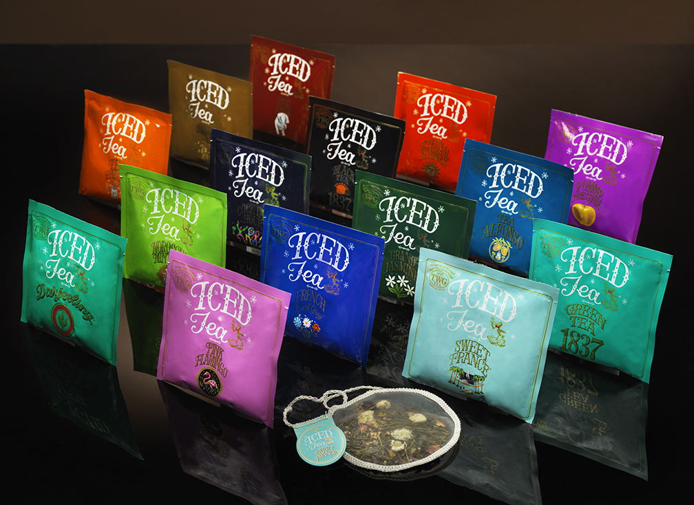 TWG Tea's newly launched Iced Teabag Collection comes in 15 variants