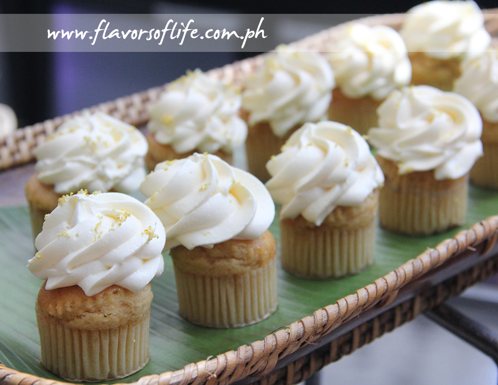 Brune Butter Cupcake with Lemon Cream Icing (Chef Mia Manuel)