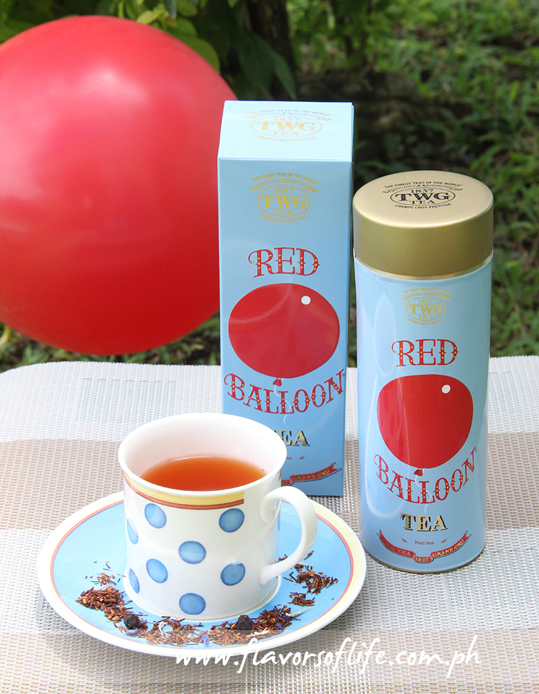 TWG Tea's new Red Balloon Haute Couture Tea