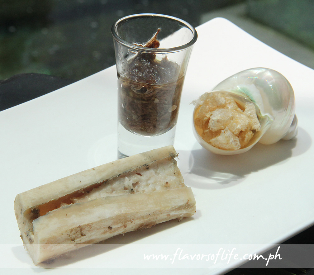 Bone Marrow Served with Oxtail Marmalade
