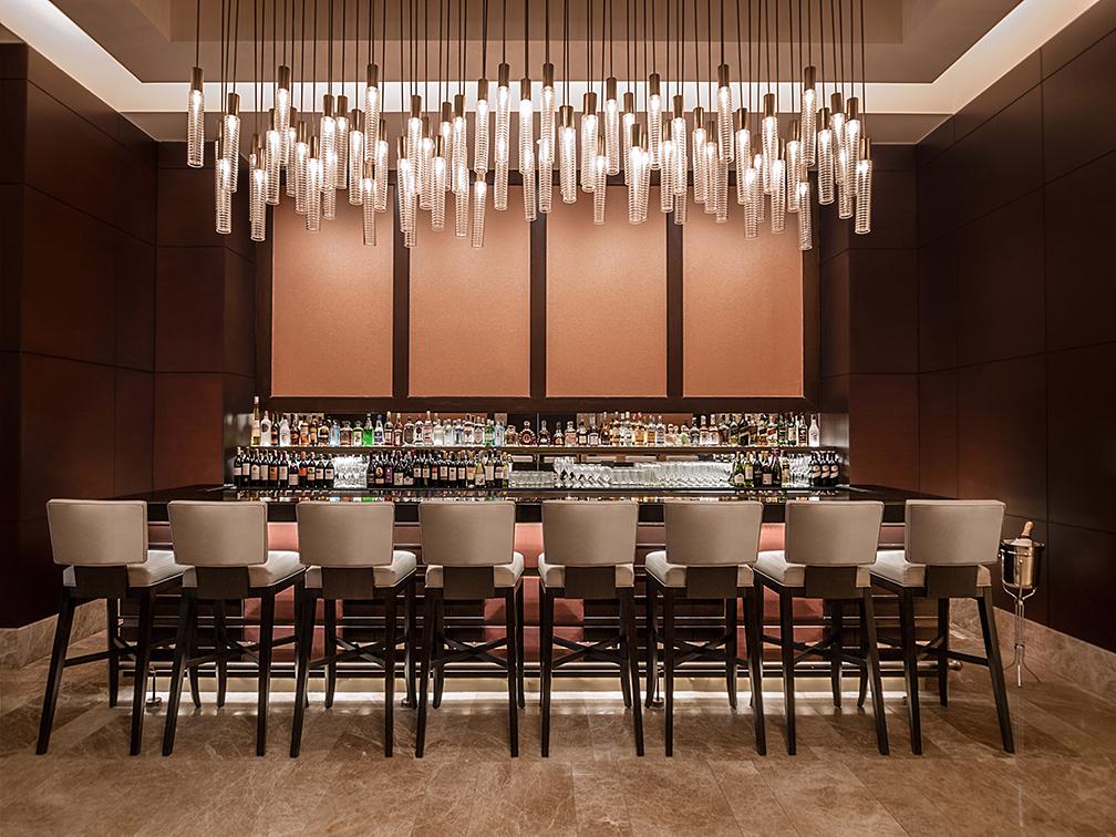 The Bar area of Crimson Hotel Filinvest City Manila's Cafe Eight