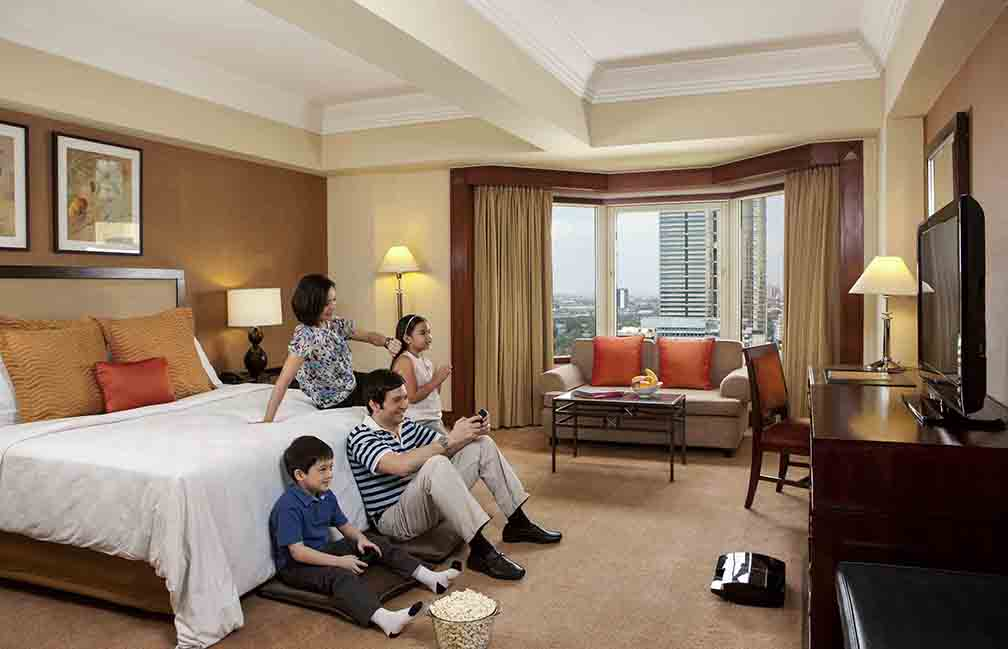 Staycation for Dad at Diamond Hotel Philippines