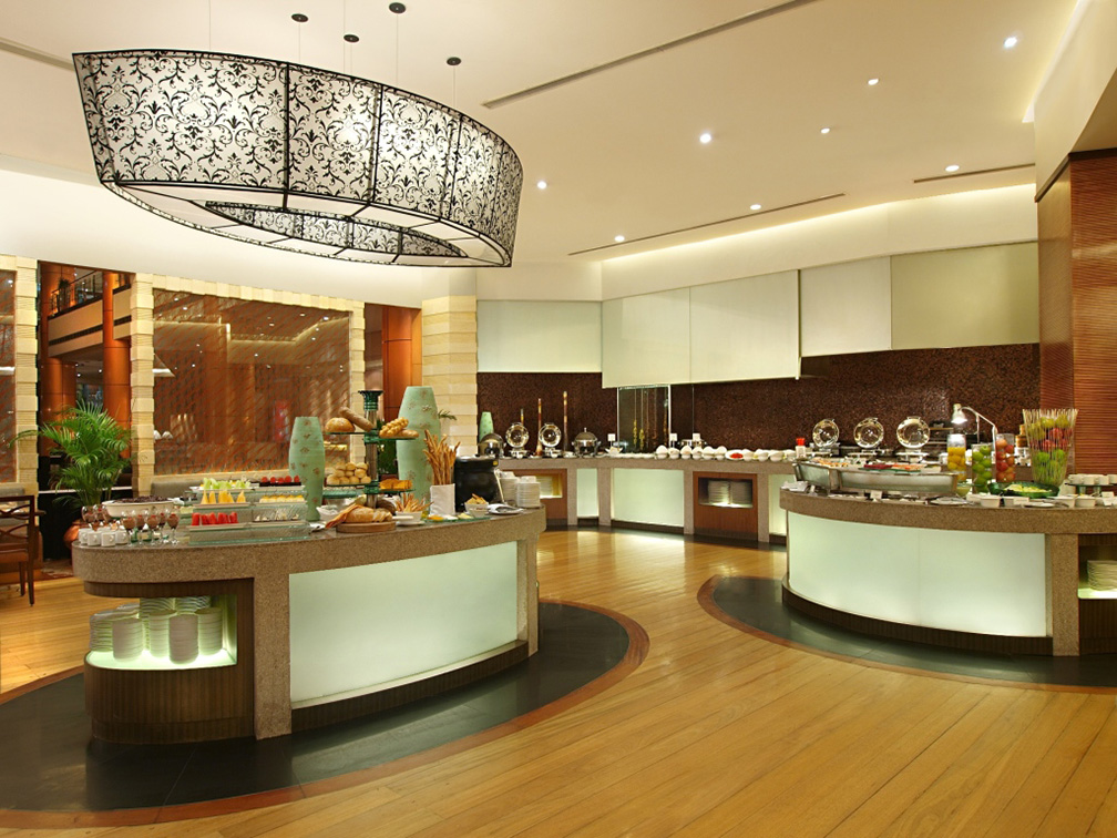 The Buffet Area of Eastwood Richmonde Hotel's Eastwood Cafe