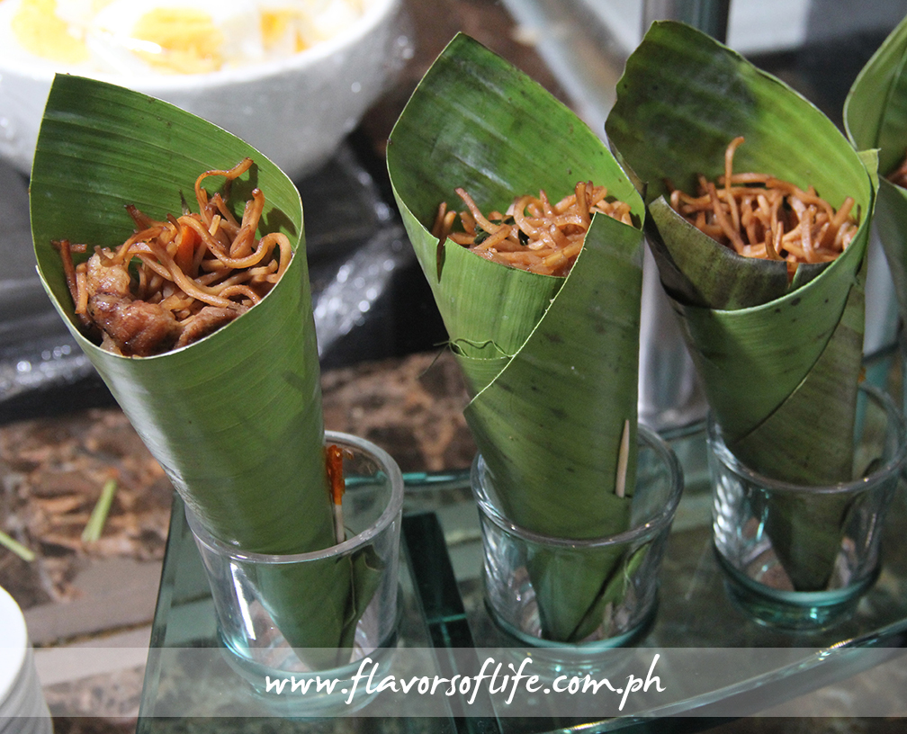 Pancit Cone Station by Chef Bruce Lim (Luzon)