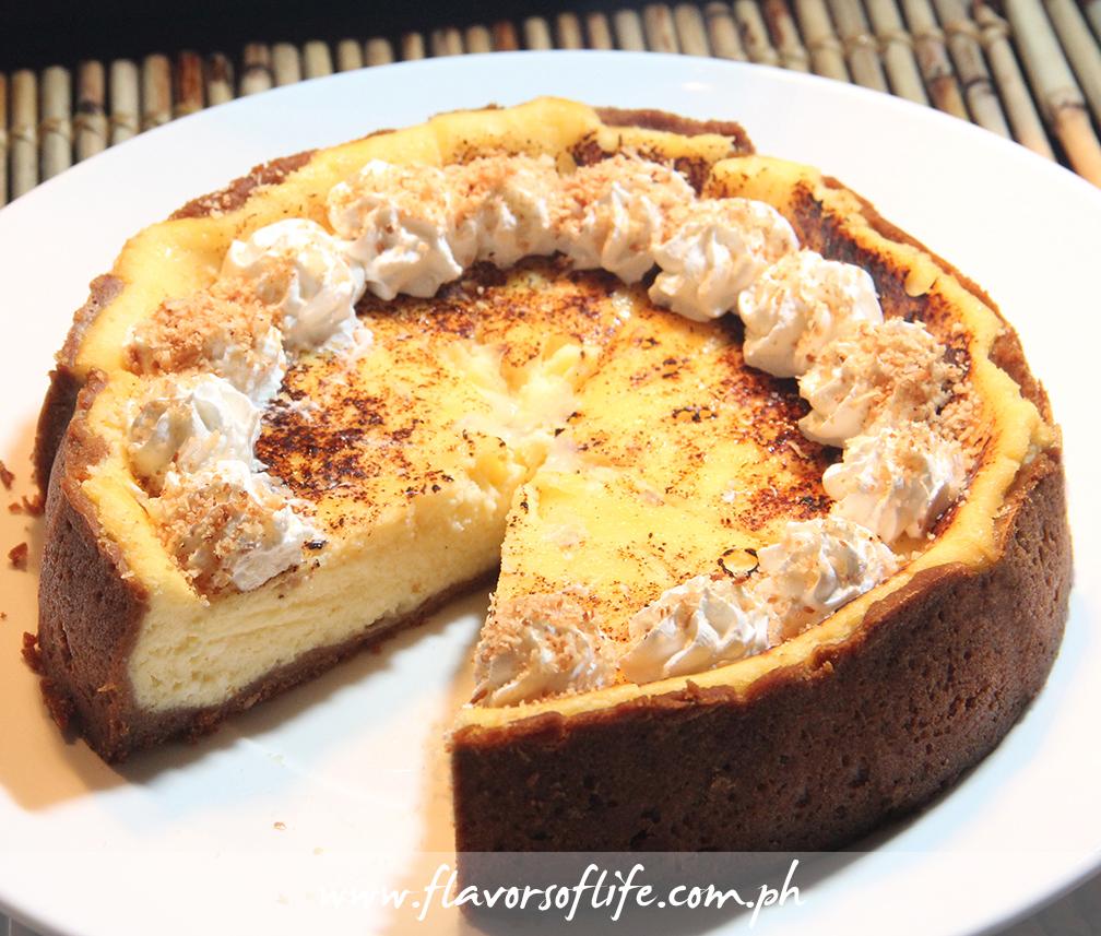 Queso de Bola Cheesecake