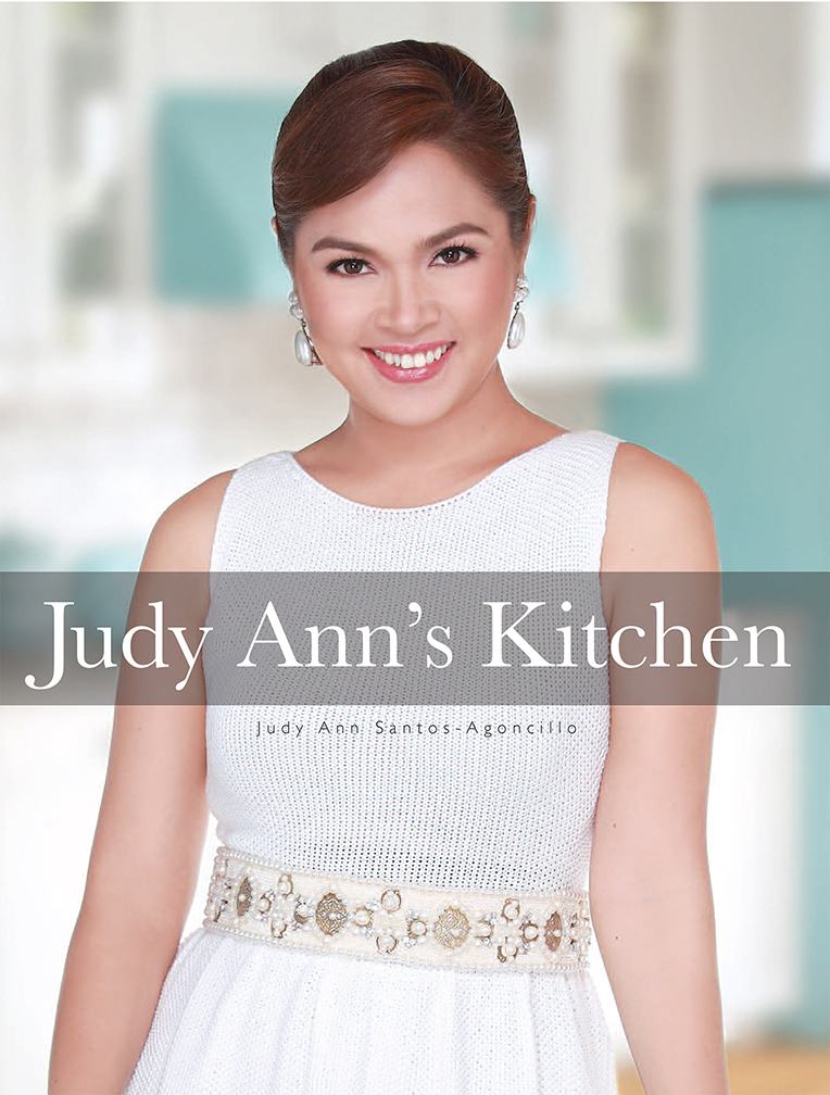 The very first cookbook of young dramatic actress Judy Ann Santos is now available at National Book Store and Powerbooks