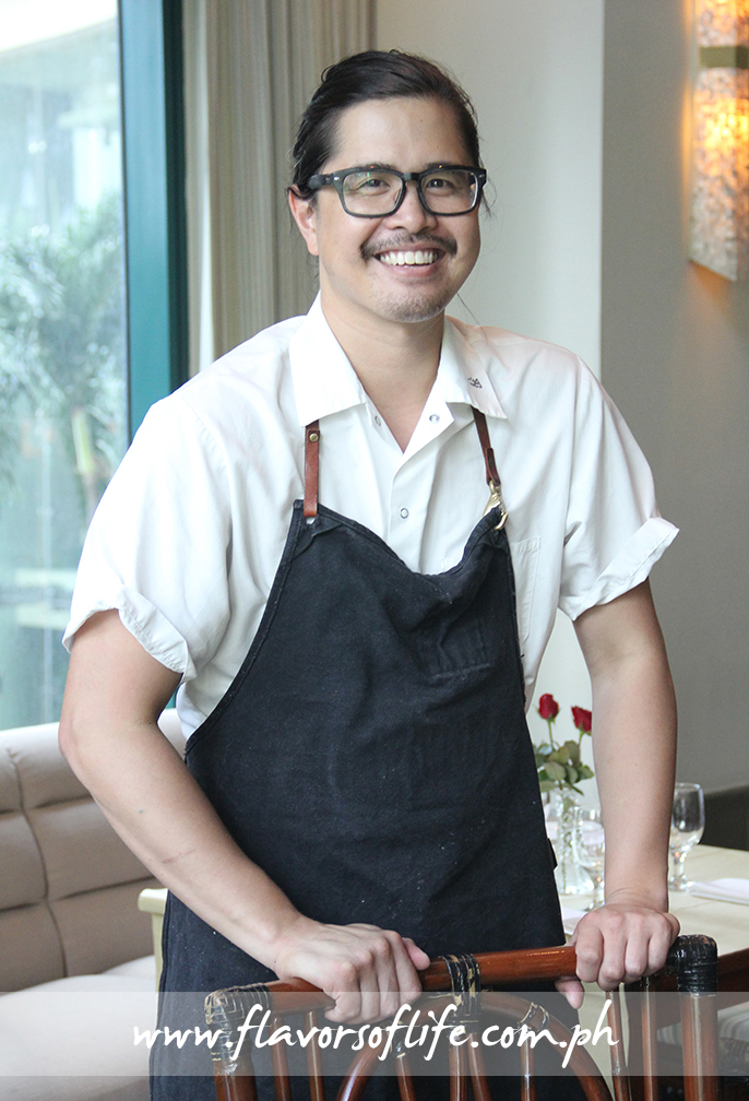Chef Jeff Claudio, cousin of Chef Jessie Sincioco, is featured at Chef Jessie Rockwell Club from July 3 to 10, 2015