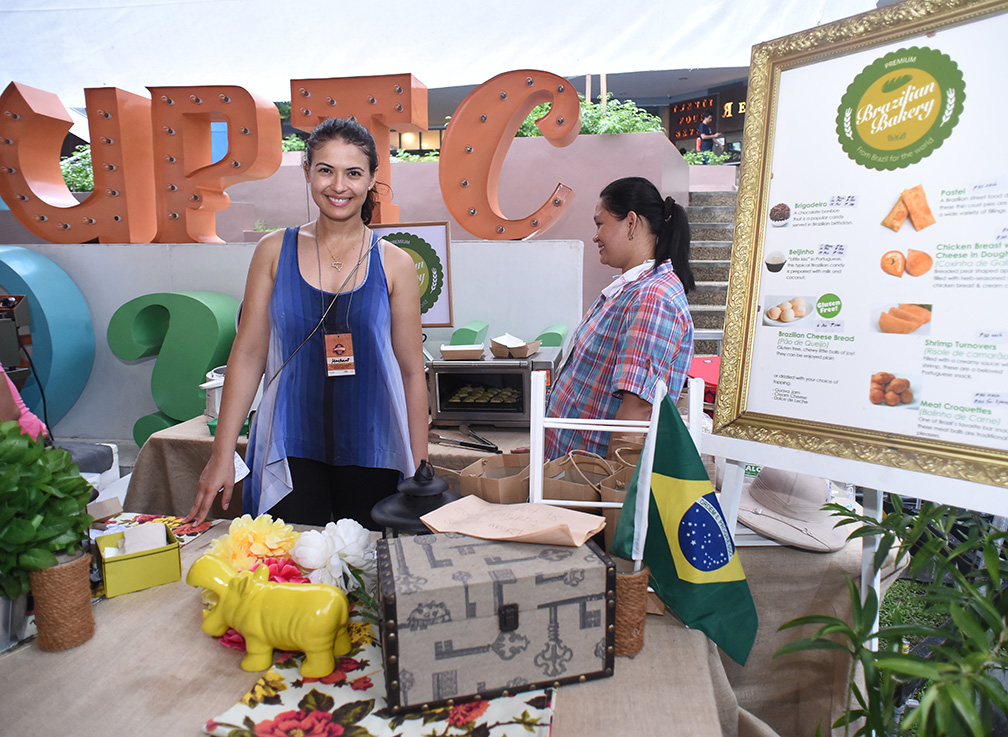 Who else but Priscilla Meirelles can be behind the Brazilian Bakery?