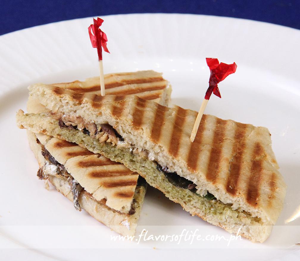 Grilled Pizza Panini Sandwich Recipes — Dishmaps